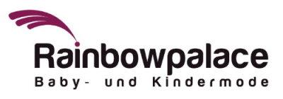 Rainbowpalace Baby- und Kindermode-Logo