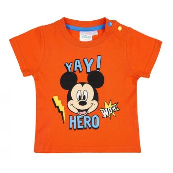 Disney Mickey Tshirt, orange, Gr. 62-92