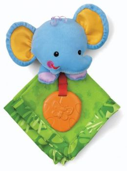 Fisher-Price Schnuffel-Elefant, 23 cm