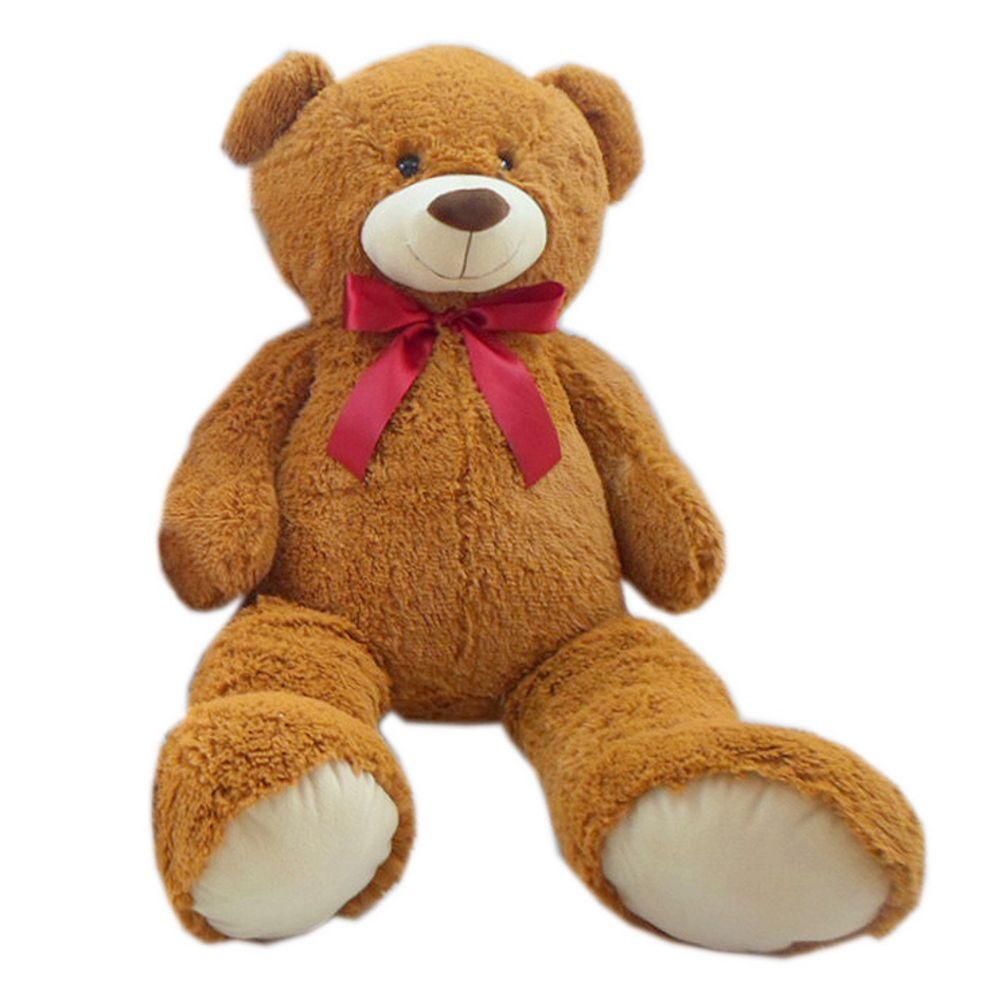 rainbowpalace baby und kindermode heunec b r teddy pl sch riesenteddy braun 100 cm. Black Bedroom Furniture Sets. Home Design Ideas