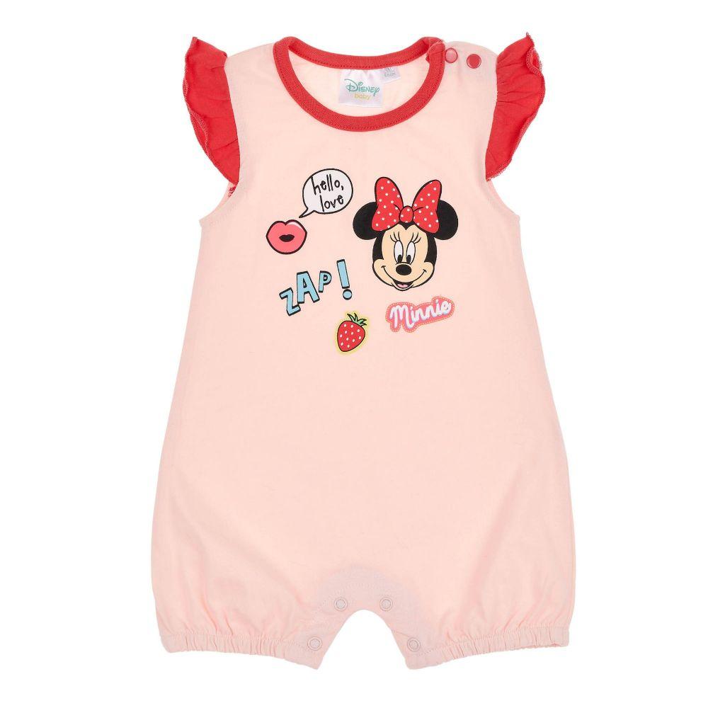 NEU Disney Strampler Spieler Einteiler Sommer Baby Mädchen Minnie Maus Mouse Rot