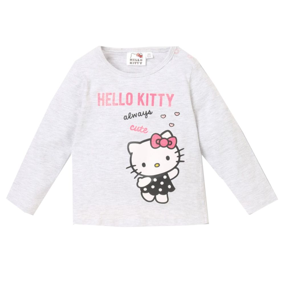 Gr/ö/ße 62-92 Kurzarm Pink Hello Kitty T-Shirt Top M/ädchen